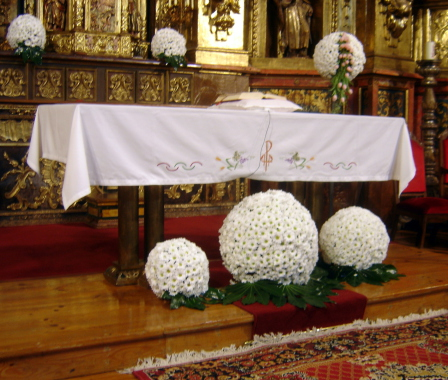 Flores para boda en Iglesias de Zamora